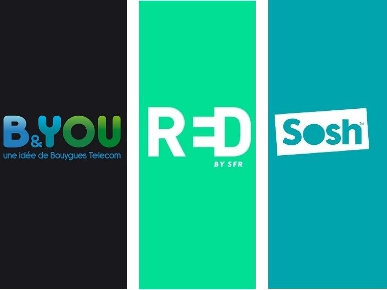 Forfait mobile à 10 euros : RED by SFR, Sosh ou B&You, on refait le match