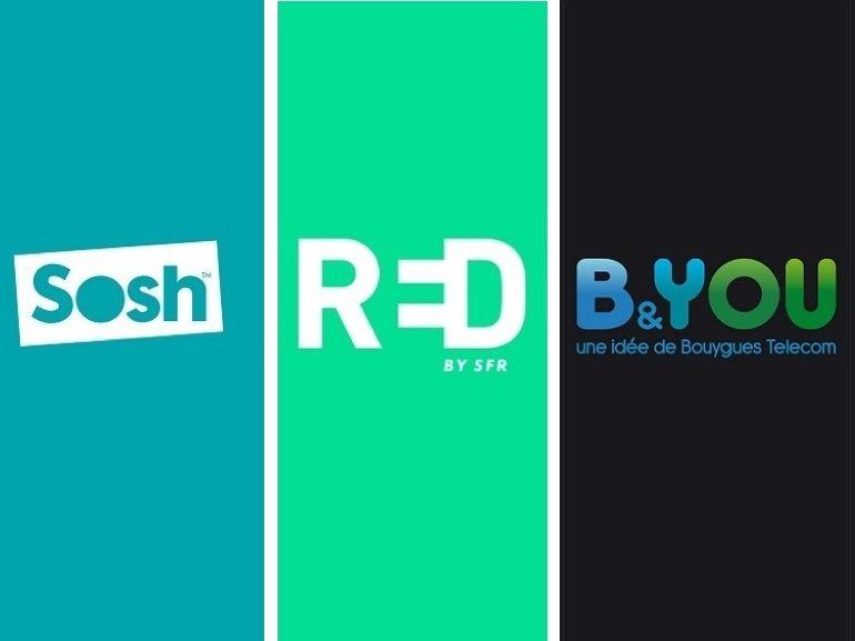 Forfait mobile : les promotions RED by SFR, Sosh et B&You prendront fin ce soir et demain