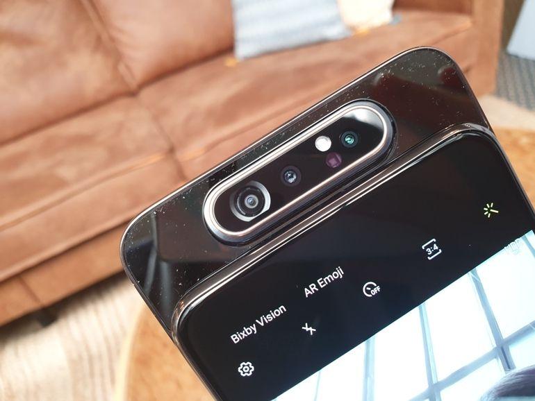 Prise en main - Galaxy A80 : coup de flip pour Samsung
