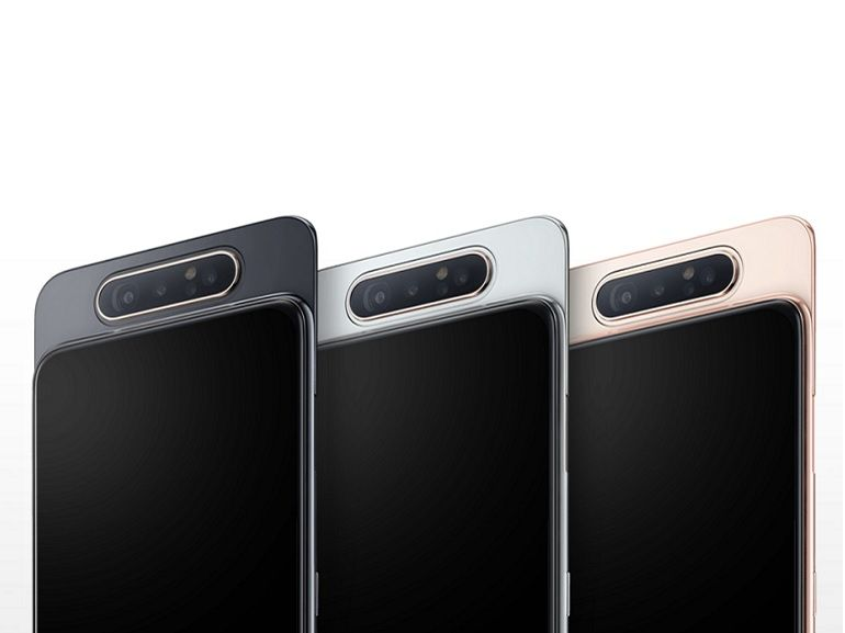 Samsung officialise le Galaxy A80 avec caméra rotative et écran bord à bord