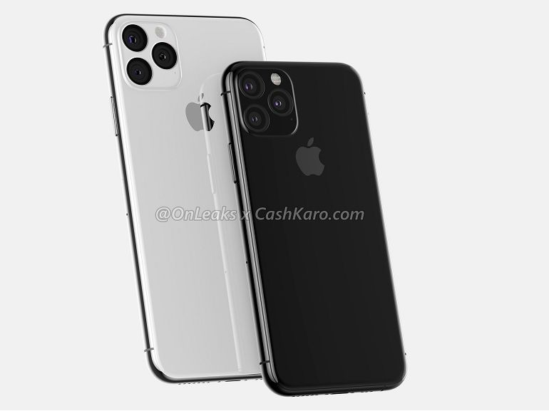 iPhone 2019 : une image tend à confirmer l'étrange triple capteur photo