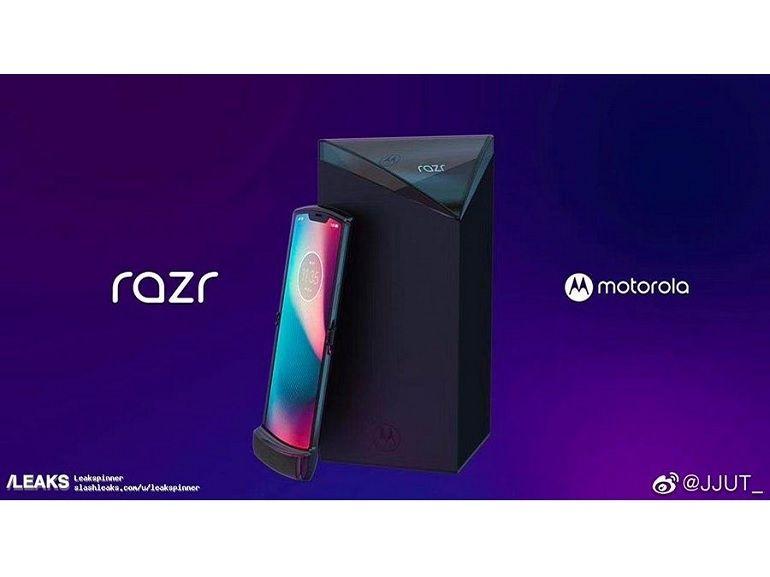 Motorola Razr : des images du smartphone pliable en fuite ?