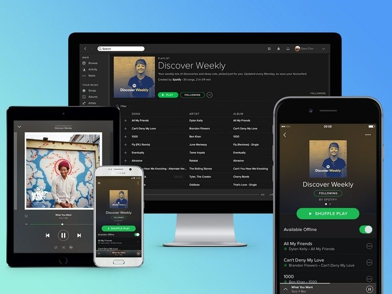 Spotify dépasse les 100 millions d'utilisateurs payants, Apple Music loin dans le rétroviseur
