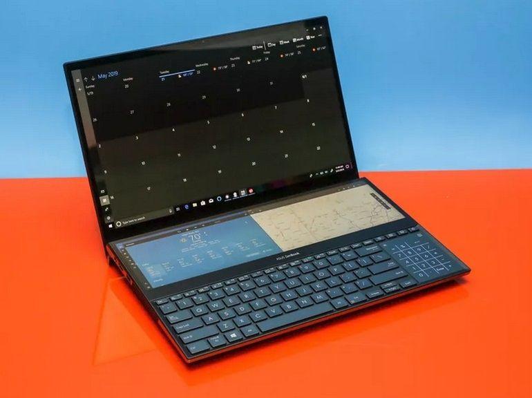 Asus surprend avec son ZenBook Pro Duo à deux écrans 4K