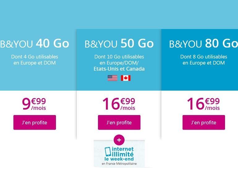 Les forfaits mobiles en promo de Bouygues Telecom devraient prendre fin ce soir