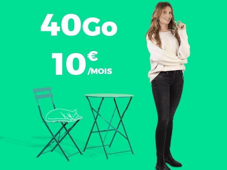 Le forfait mobile RED by SFR 40 Go à 10€ est prolongé jusqu'au 3 juin