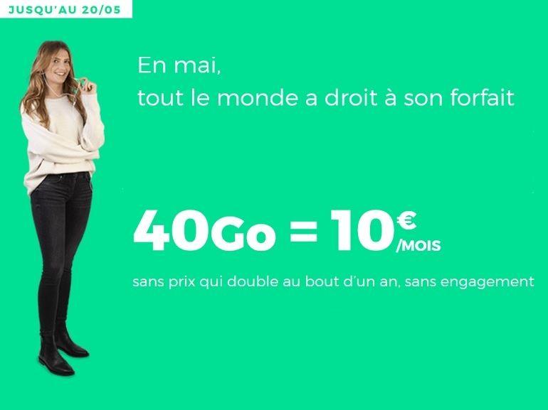 Le forfait mobile RED by SFR 40 Go à 10€ est toujours en ligne (et c'est un bon plan)