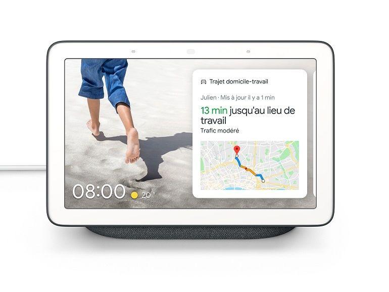 Google officialise le Nest Hub, un écran connecté pensé pour la cuisine