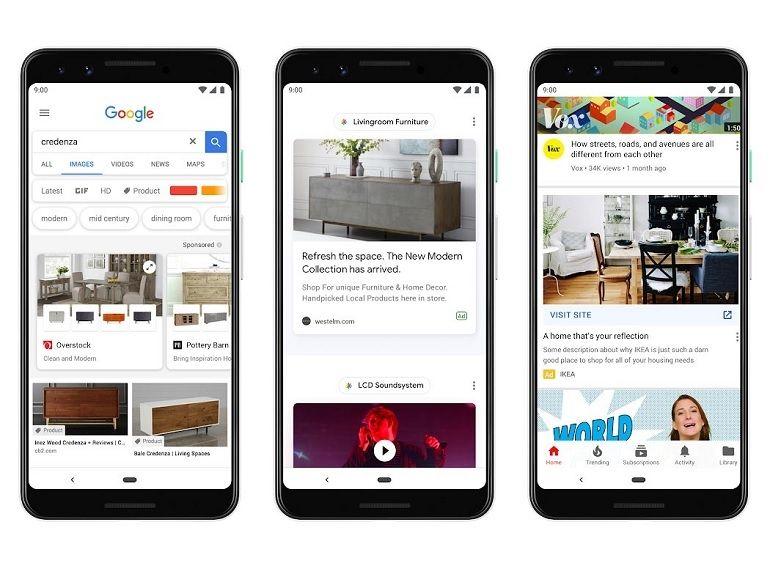 Google : la publicité arrive sur Discover, de nouveaux formats annoncés