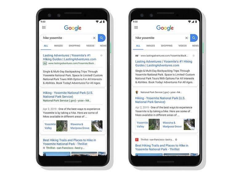 Google modifie l'affichage des résultats sur mobile et les liens sponsorisés sont plus difficiles à identifier