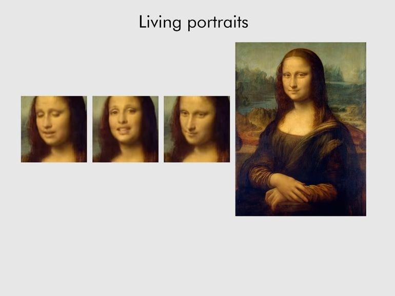 Une IA de Samsung peut fabriquer un clip vidéo de votre visage à partir d'une seule photo