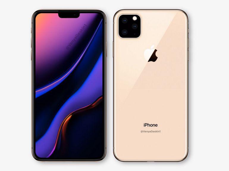 iPhone 2019 : processeur A13, charge réversible et nouveaux capteurs photo