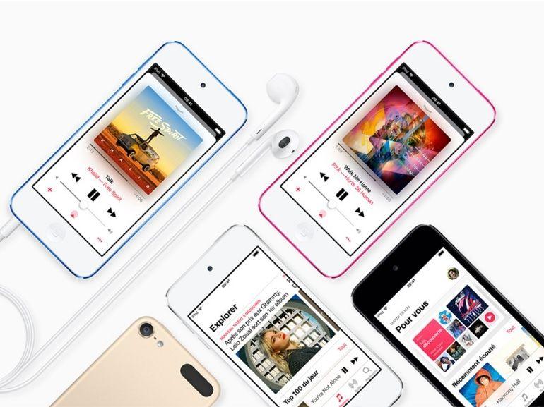 Apple annonce un nouvel iPod Touch (qui ressemble toujours à un iPhone 5)