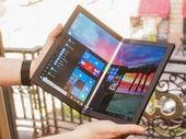 Lenovo dévoile le premier pc à écran pliable