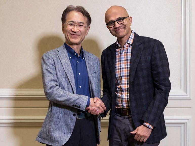 Microsoft et Sony scellent une alliance autour de l'IA et du jeu en streaming