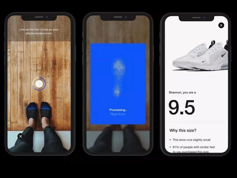Réalité augmentée : Nike Fit vous aide à trouver la chaussure parfaite