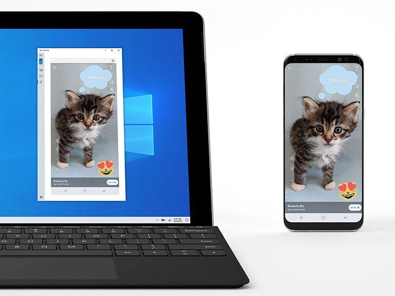 Votre téléphone sous Windows 10 : l'envoi et la réception de MMS en test