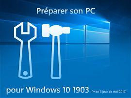 Windows 10 20H2 octobre 2020 : préparer son PC à la mise à jour