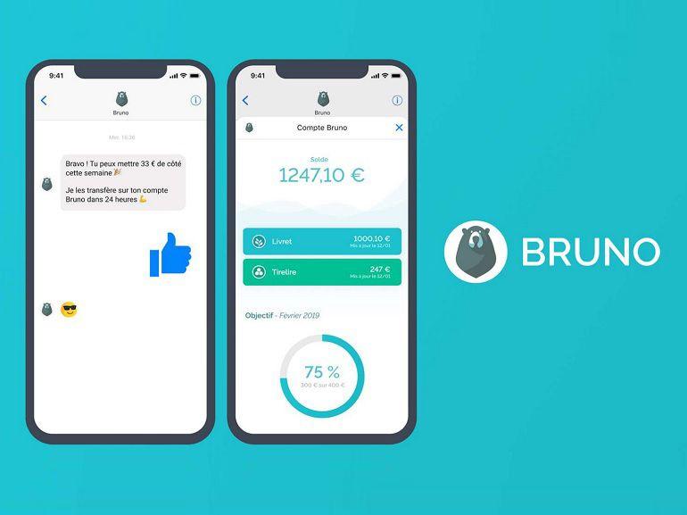Bruno, un chatbot bancaire gratuit qui vous aide à gérer votre épargne