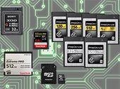 CFexpress, CFast, SD... S'y retrouver dans les formats de cartes mémoire