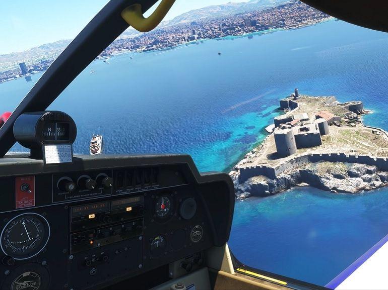 Microsoft dévoile un nouveau Flight Simulator, avec des graphismes sublimes