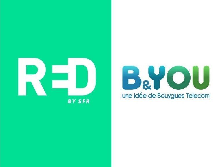 Forfait mobile à 10 euros : RED by SFR ou B&You, lequel choisir avant ce soir ?