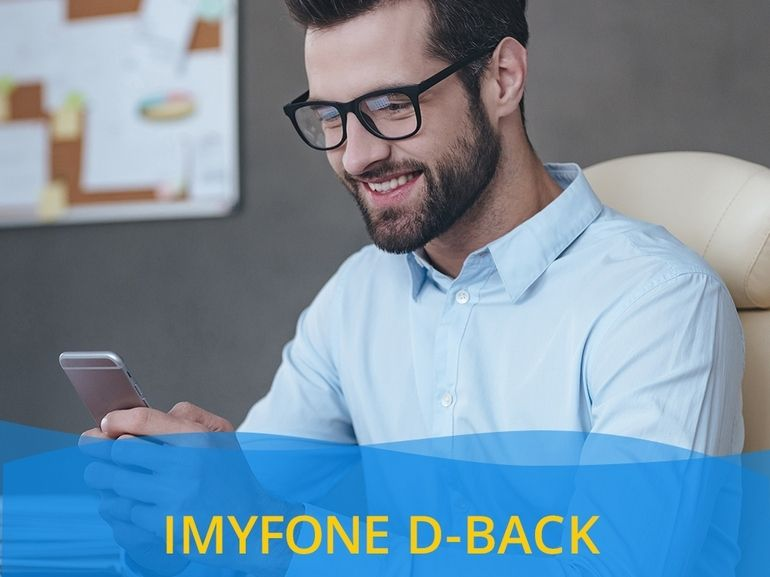 Données iPhone supprimées ou perdues ? La solution simple et rapide avec iMyFone D-Back