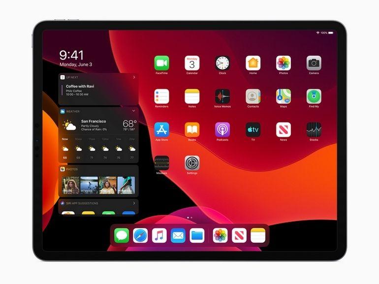 Avec iPadOS, la tablette Apple veut vraiment s'attaquer aux pc portables