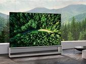 LG débute la commercialisation de son premier TV OLED 8K