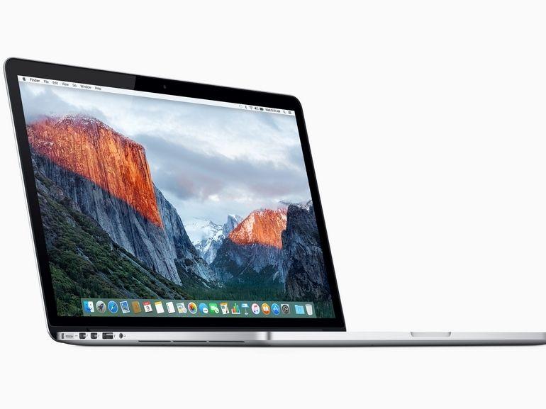 Apple lance un programme de rappel pour certains MacBook Pro 15