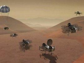 La Nasa va envoyer un drone rechercher des traces de vie sur Titan, la lune glacée de Saturne