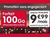 Le forfait NRJ Mobile 100 Go est à 9,99€ pour quelques jours encore