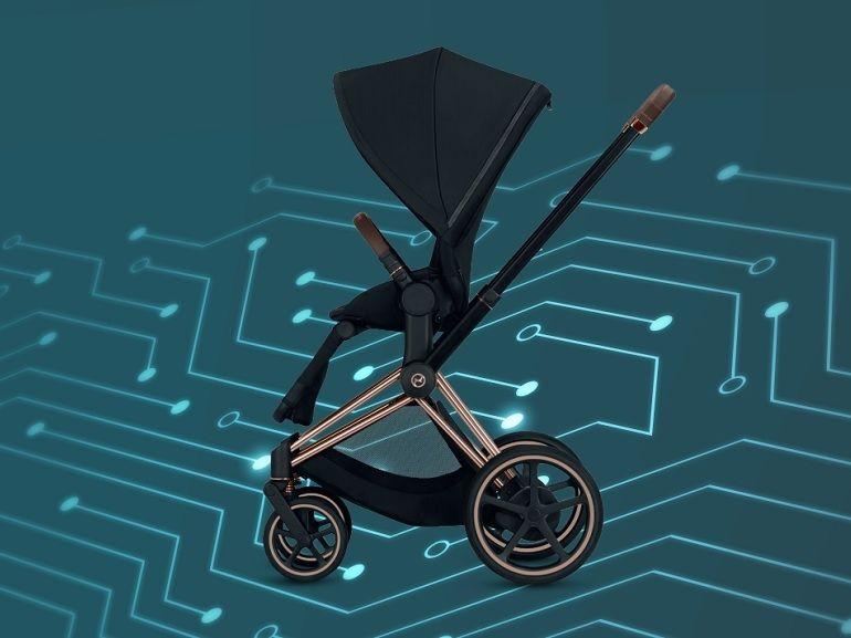 e.PRIAM, une poussette électrique pour simplifier la vie des parents