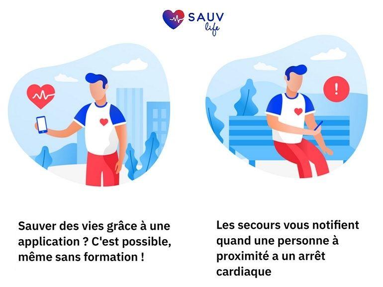 SAUV Life : l'application du SAMU pour sauver les victimes d'arrêt cardiaque