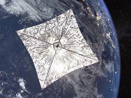 SpaceX se prépare à lancer un satellite propulsé uniquement par une voile solaire