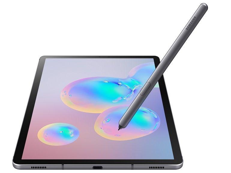 Samsung Galaxy Tab S6 officielle : un lecteur d'empreintes sous l'écran et un double capteur photo au programme