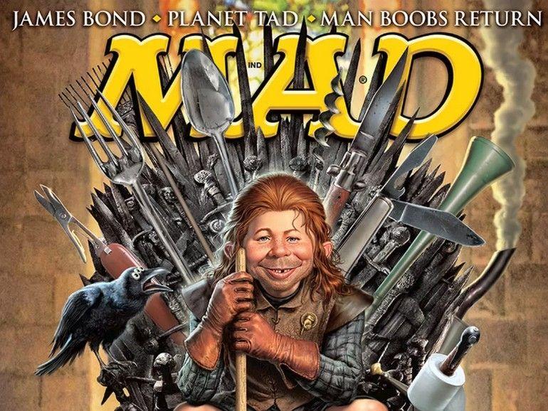 Mad Magazine va disparaître des kiosques