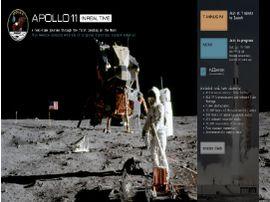 """Revivez """"en direct"""" la mission Apollo 11 grâce à ce site interactif de la NASA"""