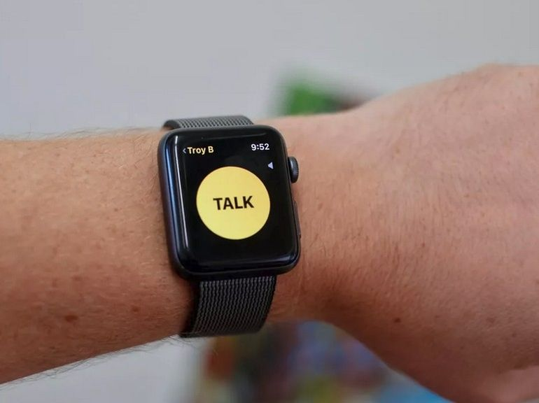 L'application talkie-walkie de l'Apple Watch désactivée à cause d'un bug de sécurité