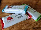 On a testé les barres-repas Feed : de vrais substituts, mais l'impression de ne rien avoir mangé