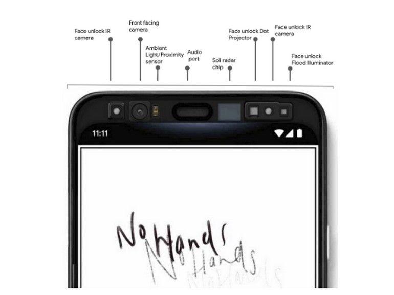 Le Google Pixel 4 proposera la reconnaissance des visages et des gestes grâce à la puce Soli