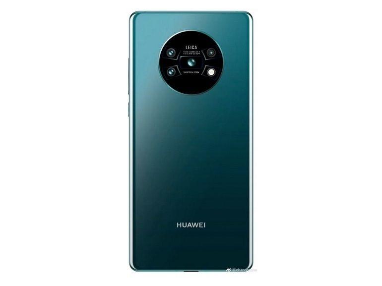 Huawei Mate 30 Pro : des caméras disposées en X dans un cercle ?