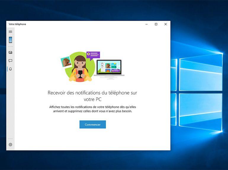Windows 10 : les notifications Android sur PC accessibles à tous