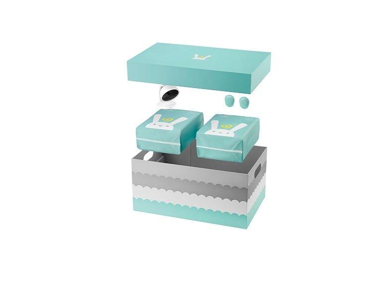 Pampers dévoile un système connecté avec couche et caméra HD