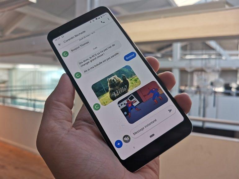 Chat, la messagerie RCS de Google arrive en France, on vous explique tout
