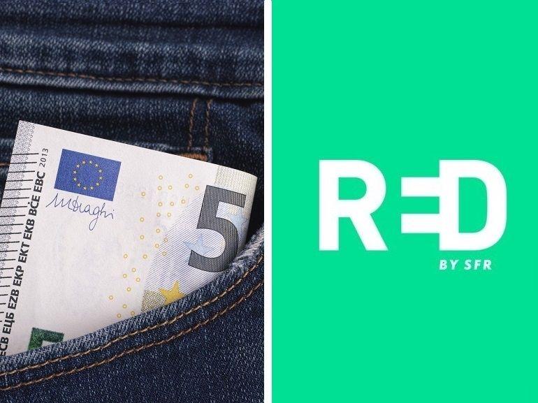 Le forfait 5 Go à 5€ de RED by SFR devrait prendre fin ce soir