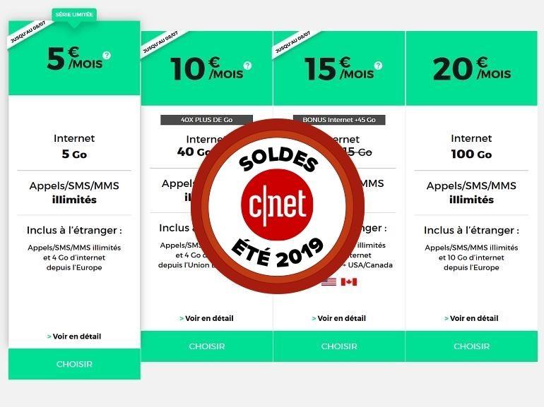 Les soldes de RED by SFR : les promos sur les forfaits mobile et fixe se termineront ce lundi