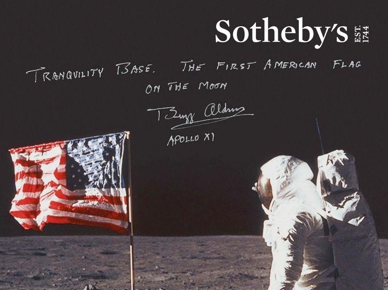 La vidéo originale de Neil Armstrong sur la Lune vendue aux enchères est estimée à 1 million de dollars
