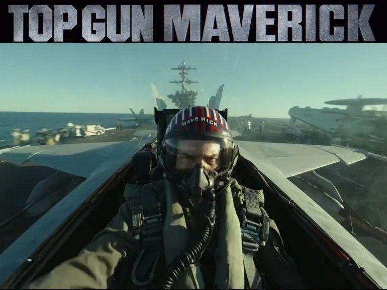 Top Gun : Maverick, Tom Cruise de retour dans la première bande-annonce