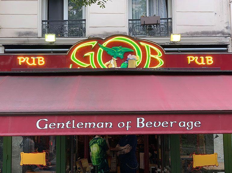 Idée de sortie à Paris : le Gob, un pub aux bières originales et à l'esprit geek, mais pas que